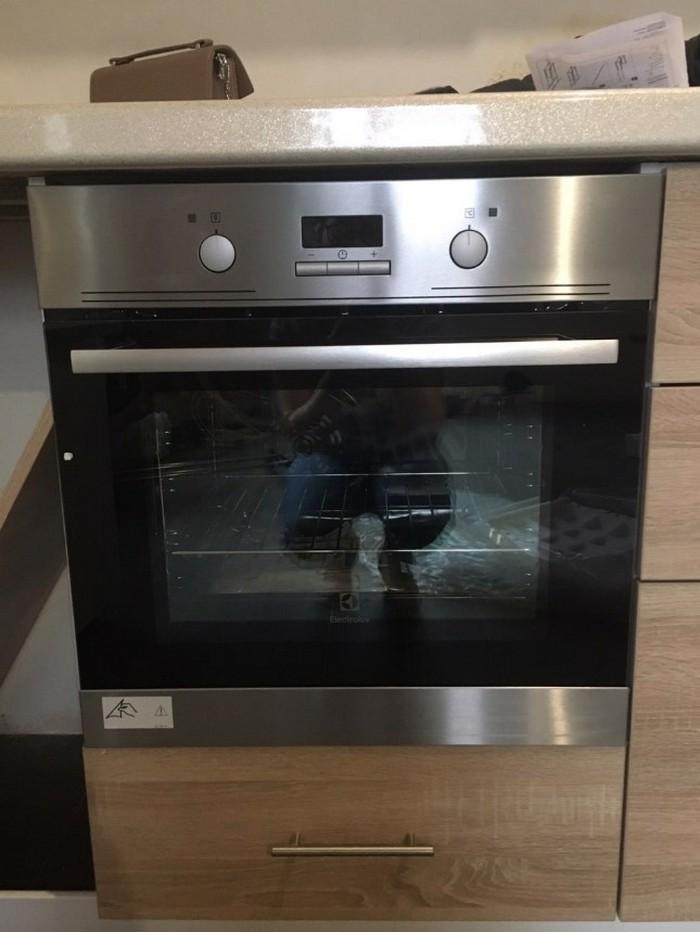Установка духового шкафа в кухонный гарнитур - инструкция с фото