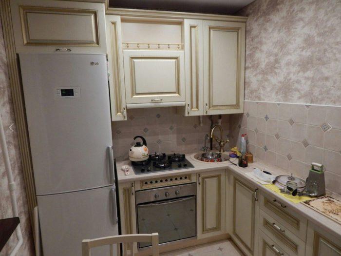 Дизайн кухни в стиле неоклассика - 40 реальных фото из современных интерьеров