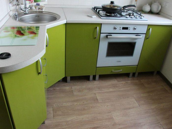 Линолеум на кухню: какой лучше выбрать и как он выглядит на фото в интерьере?