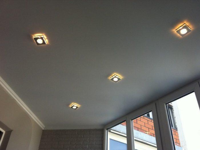 Натяжной потолок на кухне: 50 фото с лучшим дизайном